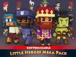 Little Heroes Mega Pack