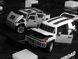 Low Poly Destructible Cars 2 – Offroad