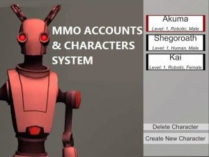 MMO Accounts & Characters System