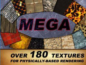 MegaTextures Pack – PBR