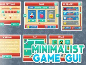 Minimalist Game GUI