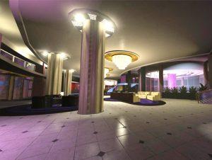 Modern Hotel and Club Level Interior
