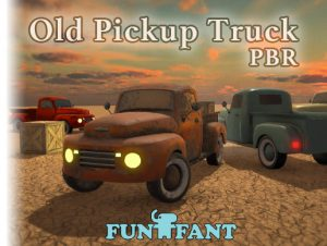 Old Pickup Truck PBR