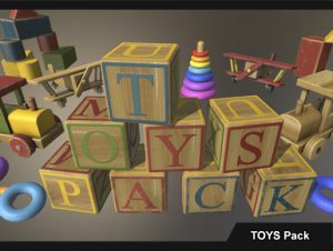 PBR Toys Pack