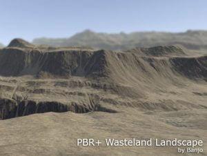 PBR Wasteland Landscape