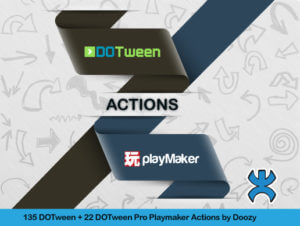 Read more about the article Playmaker Actions for DOTween by Doozy