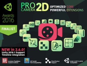 Pro Camera 2D – The definitive 2D & 2.5D Unity camera plugin