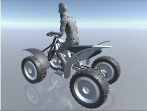 "Quad bike (ATV) physics with ""Wheel System"""