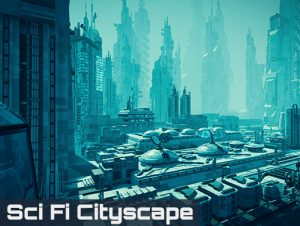 Read more about the article Sci Fi Cityscape