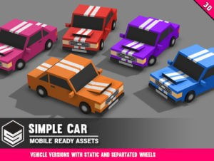 Simple Car – Cartoon Vehicle