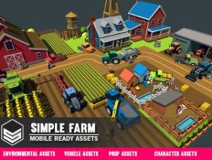 Simple Farm – Cartoon Assets
