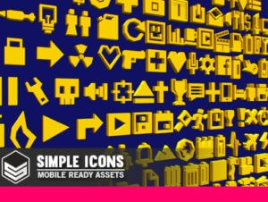Simple Icons – Cartoon assets