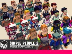 Simple People 2 – Cartoon Assets
