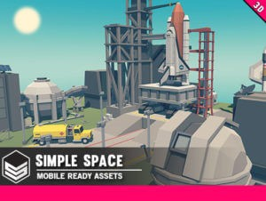 Simple Space – Cartoon Assets