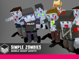 Simple Zombies – Cartoon Characters