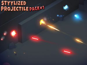 Stylized Projectile Pack 1