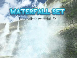 Waterfall set
