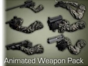 Animated Weapon Pack I