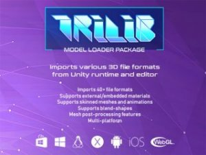 TriLib – Unity model loader package