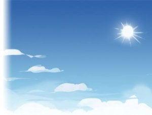 Cartoon Skybox – Sunny