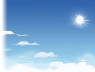 Cartoon Skybox – Sunny