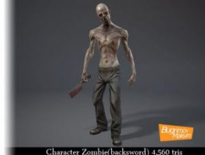 Character Zombie(backsword)