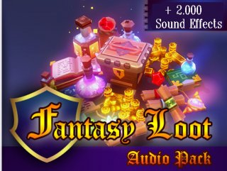 Fantasy Loot Audio Pack