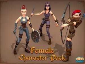 Female Character Pack