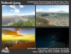 Gaia Stamps Pack Vol 05 – Coastal Area