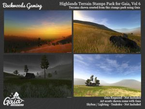 Read more about the article Gaia Stamps Pack Vol 06 – Highland Area
