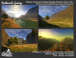 Gaia Stamps Pack Vol 08 – Canyon & Gorge