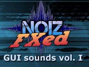 GUI Sounds Vol I – NoizFXed
