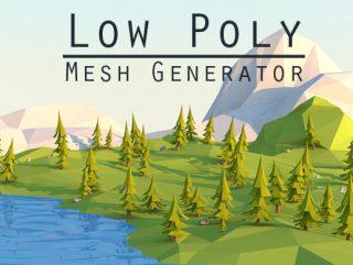 Low Poly Mesh Generator