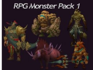 RPG Monster Pack 1
