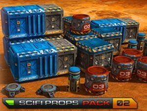 SciFi Base – Props Pack 02