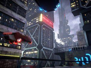 SciFi Neon City