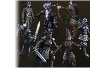 Seven Medieval Heroes