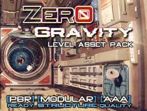 Space Station Level Asset Pack – Zero Gravity PBR / Unity 5