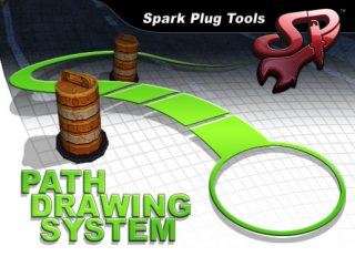 Spark Plug Tools Path Drawing System