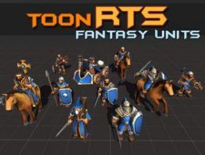 Toon RTS Units