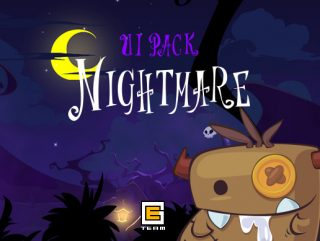 UI Pack: Nightmare