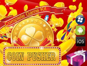 Coin Pusher Complete Game Kit