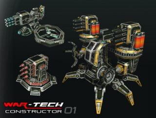Modular Multilevel: Turrets-Mechs-Robots