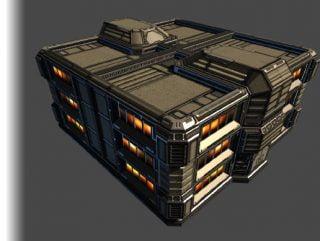Sci-fi environment models
