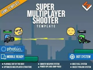 Read more about the article Super Multiplayer Shooter Template