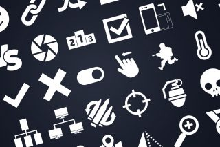 570+ Simple Vector Icons