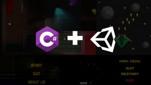 Unity 2D and 3D Games From Scratch and learn C# Scripting