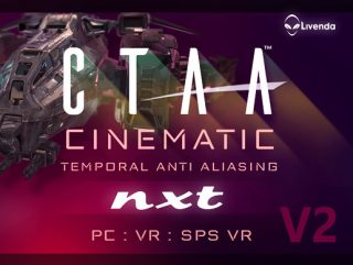 CTAA NXT V2 Cinematic Temporal Anti-Aliasing