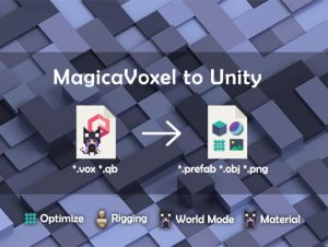 Read more about the article MagicaVoxel To Unity
