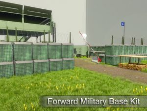 Modern Forward Military Base Kit